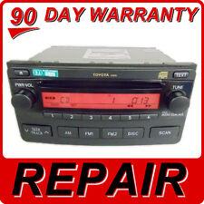 REPAIR SERVICE ONLY Toyota Matrix Radio CD Player Fix A51816 03 04 05 06 07 08