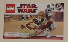 LEGO 8092 LUKES LANDSPEEDER BOOKLET MANUAL ONLY