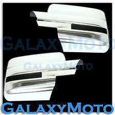 09-12 Ford F150 Truck Chrome Mirror with Turn Light Signal Full Cover - a Pair