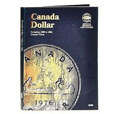 Whitman Coin Folder 2488 CANADA Dollar 1968-1986 Volume 3