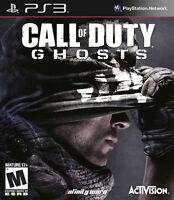 Call of Duty: Ghosts PS3 Playstation 3 Brand New Factory Sealed - FREE Shipping