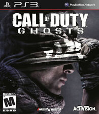 PS3 Call of Duty Ghosts NEW Sealed Region Free USA game plays on all consoles