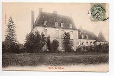 BRIEL Aube CPA 10 le chateau