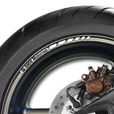 8 X Bmw Motorrad Rueda Llanta Calcomanías Stickers Rayas V1 - 1000 Gs Aventura Rr Xr