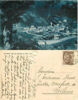 Cartolina di Ottone, panorama - Piacenza, 1927