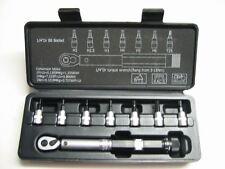 """XLC Clé dynamométrique TO-S41 1/4 """" 3-15NM NEUF + bits 2,2,5,3, 4, 5, 6mm+T25"""