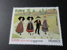 FRANCE 2009 timbre 4400, TABLEAU HANSI, ART, PAINTING, neuf**, MNH STAMP