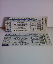 Bob Dylan Tickets From L.A. Forum October 20, 2006