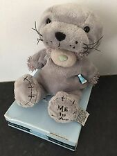 RARE ME TO YOU ANIMAL TATTY TEDDY BEAR ON BOX - DRESS UP - SEAL / SEA LION