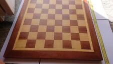 Massives Holz-Schachbrett - fast 3 kg schwer - ca. 50*50 cm lang*breit