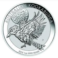 2018 Silver 1oz Kookaburra Bullion Coin
