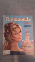 Ciné Monde - N°1261 - Giovedì 9 Ottobre 1958 - Brigitte Bardot