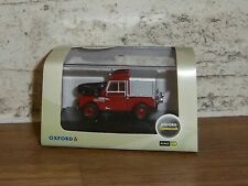 "Oxford Diecast 1:76 Red Land Rover 88"" Fire Excellent"
