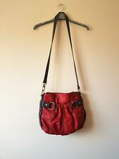 Red Leather Tignanello Shoulder Handbag - Excellent Condition