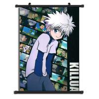Hunter X Hunter Killua Anime Wall Poster Scroll Home Decor Cosplay