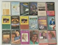 Lot of 18 Christian Pop music cassettes Sandi Patty Dino Mormon Tabernacle Choir