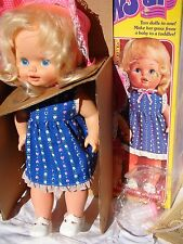 Mattel Baby Grows Up Doll Working and Complete w/ Box Vintage 1978 Toy