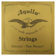AQUILA UKULELE STRINGS 7U CONCERT REGULAR TUNING NYLGUT KEY OF C SUPERIOR SOUND