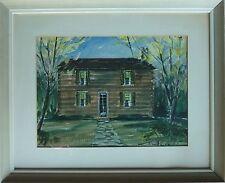 Vintage RICHARD LEWIS Original Watercolor Painting