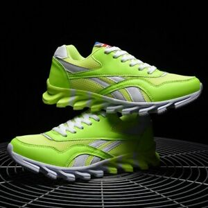 US Men's Casual Shoes Running Sports Male Sneakers Breathable Trainers Tennis