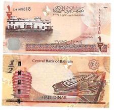 BAHRAIN 1/2 HALF DINAR 2008 UNC P 25