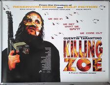 Cinema Poster: KILLING ZOE 1994 (Quad) Eric Stoltz Julie Delpy Quentin Tarantino