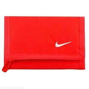 Nike Wallet Black Credit Card Holder Zip Purse Coins Cash Mens Womens Unisex NEW