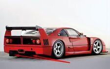 Fondo piatto posteriore FERRARI F40 Le Mans carbon PLATE FUND TOP MOTORSPORT