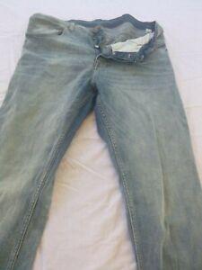 Cheap Monday Mens Denim Blue Jeans Size 36 Good Condition