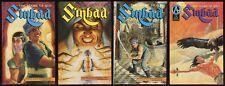 Sinbad Book 2 The House of God Comic Set 1-2-3-4 Lot Adventure Comics Sindbad