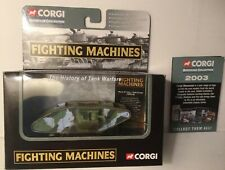 Corgi Mark IV Male Tank WW1 Tank Fighting Machines With Box & Insert 1/76 Scale