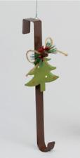 Rustic Design Metal Christmas Wreath Hanger Tree Design 36cm