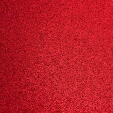 Red Glitter Card A4 / Sample Sheet Ultra Low Shed Cardstock Arts & Crafts 250gsm