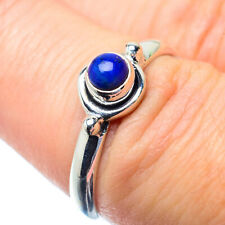 Lapis Lazuli 925 Sterling Silver Ring Size 7 Ana Co Jewelry R26896F