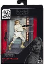 Star Wars The Black Series Titanium Luke Skywalker Action Figure - SAVE 25%