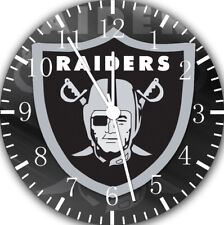 Oakland Raiders Frameless Borderless Wall Clock Nice For Gifts or Decor E438