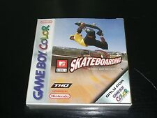 2000 Game Boy Color Skateboarding Andy Macdonald THQ MTV Boxed MIB COMPLETE