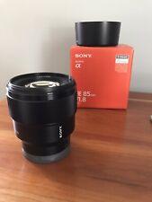 Sony SEL 85mm F/1.8 FE Lens
