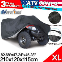 ATV Cover Storage 4x4 Fit for Yamaha Grizzly 700 550 660 Arctic Cat 1000