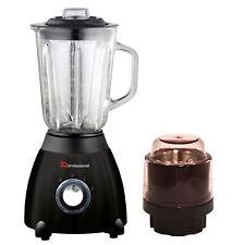 Electric Multi Food Blender Grinder Smoothie Maker Heavy Duty 500 W Mixeur Black