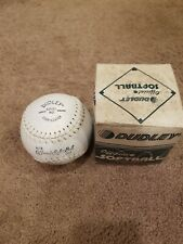 Vintage Dudley Official Regulation Softball Nite Day Sb12L Nd New Unused