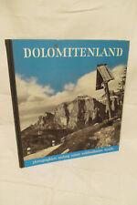 Dolomiti paese, foto immagine volume 1957 Dolomiti Italia