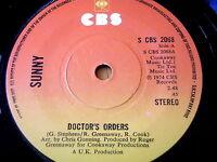 """SUNNY - DOCTORS ORDERS   7"""" VINYL"""