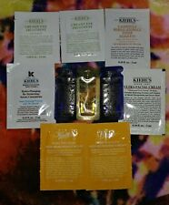 Lot of 10 Kiehl's Skincare Samples Midnight Concentrate Eye Face Cream Toner