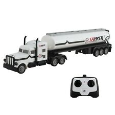 "RC Toy Semi Truck Trailer 18"" Remote Control Rechargeable Battery Included TM-55"