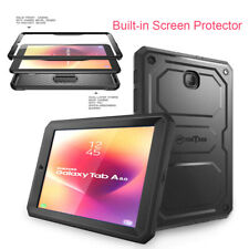 For Samsung Galaxy Tab A 8.0'' 2018 SM-T387 Shockproof Case w/ Screen Protector