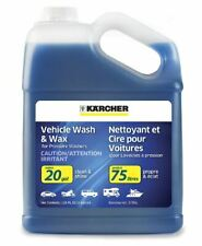 New Karcher Car Wash Wax Soap Pressure Washers Cleaner Detergent Luster 1 Gallon