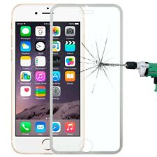 Tempered Genuine Glass Screen Protector Edge to Edge Silver for iPhone 6s/6 NEW