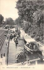 Berks,  BOULTER'S LOCK - MAIDENHEAD,  Boats on the River  - LL # 612