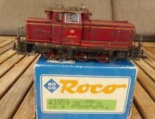 Roco 43959 H0 3-Leiter AC Wechselstrom Diesellok V 60 423 der DB Epoche 3, OVP